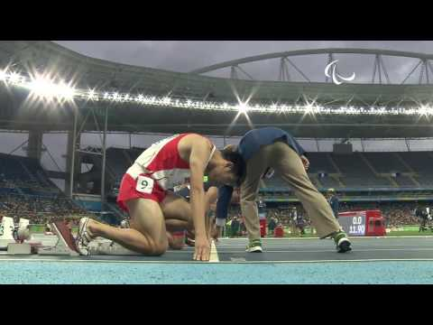 Ridzuan Puzi - Pingat Emas Pertama buat Malaysia di Sukan Paralimpik Rio 2016