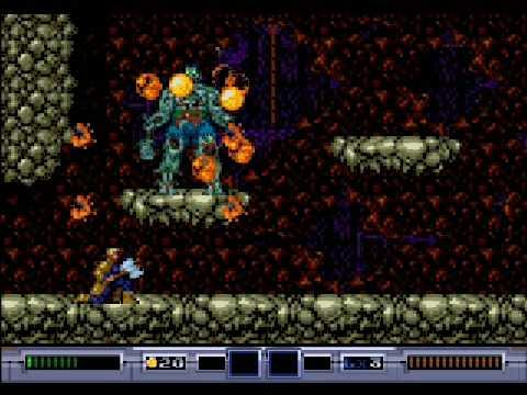 Ex-Mutants Megadrive
