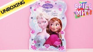 Disney Frozen Die Eiskönigin Parfüm Überraschung   Überraschung mit Elsa und Anna Duft