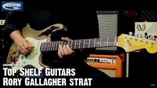 Video Top Shelf Guitars - Fender Rory Gallagher Signature Strat - Serial No R81080 MP3, 3GP, MP4, WEBM, AVI, FLV Juli 2018