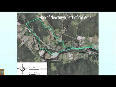 video capture of a Prezi we did for the Battle of Newtown