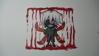 Hi there everybody! Here's the tutorial of the chibi version of Kaneki Ken! I hope you like it, and that it was helpful... I left the sketch in real time, so you can follow along it... Thank for watching, and also thanks for 1K subs, it means a lot to me! Also dont forget tot subscribe, to like, and to comment!Character: Kaneki KenAnime: Tokyo GhoulTime spent: 2h+Tools used: Watercolor paper; Faber Castell Polychromos; Faber Castell Ecco Pigment 0.3; 0.5; Watercolors;For the sketch I used Faber Castell 4=2H pencil.