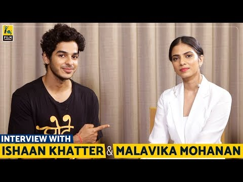 Interview with Ishaan Khatter & Malavika Mohanan | Beyond the Clouds | Anupama Chopra