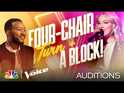 "Everyone Wants Cami Clune After She Sings Bon Iver's ""Skinny Love"" - The Voice Blind Auditions 2020"