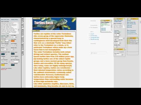 Drag And Drop Visual Editor WordPress
