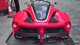 CRAZY Ferrari LaFerrari w/ FXXK Livery SOUND! by 458MRP