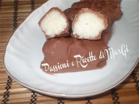 cioccolatini al cocco fatti in casa