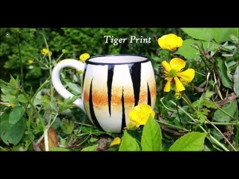 Tiger Print Painting Technique