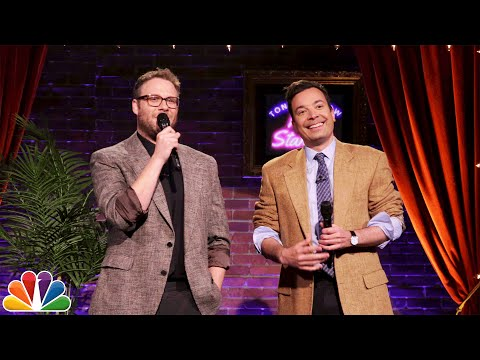 Tonight Show Kid StandUp with Seth Rogen