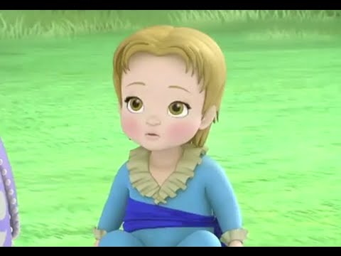 Sofia The First - 2 Princesses & A Baby - Cedric Turns James Into A Baby! - Disney Junior UK HD