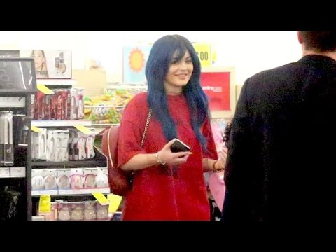 Kylie Jenner Shopping For Pregnancy Test At CVS?