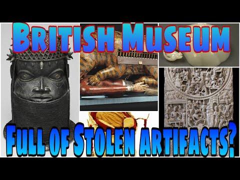 British Museum full of stolen artifacts?...