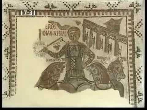 Mosaike aus einem Zirkus in Karthago und von Thugga - römischen Mosaiken (3/3)