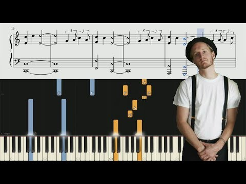 The Lumineers - Sleep On The Floor - Piano Tutorial + SHEETS
