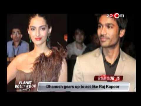 Sonam Kapoor & Dhanush's vintage romance