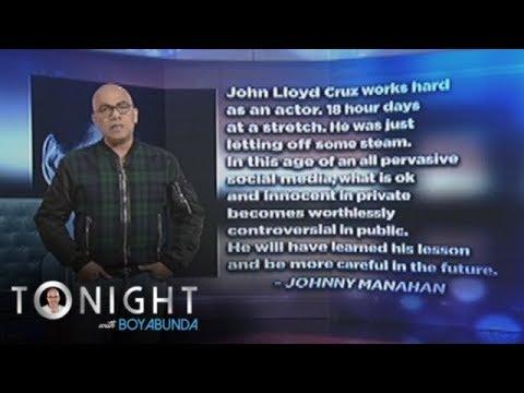 TWBA: John Lloyd Cruz says sorry for his cyber scandal_Celebek. Heti legjobbak