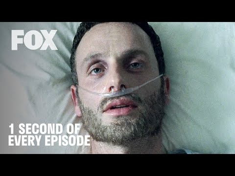 The Walking Dead | 1 Second of Every Episode (S1-S10) - Relive the TWD Apocalypse! | FOX TV UK