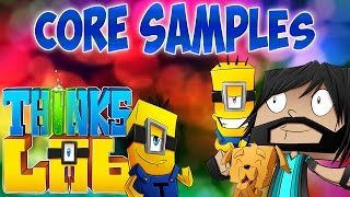 Minecraft Mods : Think's Lab - TNT Core Samples!