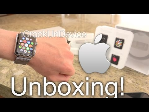 Apple Watch Unboxing - Setup and Review (Stainless Steel)