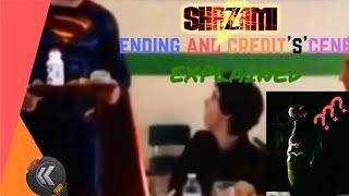 SHAZAM! Ending and Credit Scenes Explained   Linking to DCEU   Cameo   Aquaman   Nerdist ks
