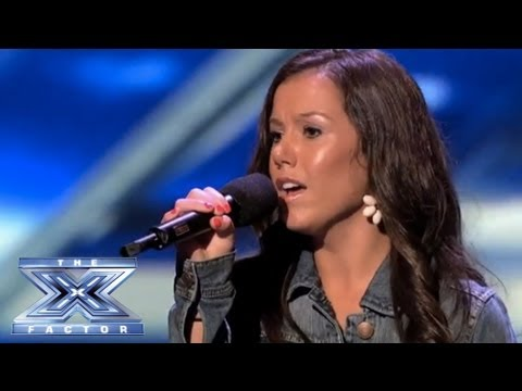"Brandie Love Sings ""Up to the Mountain"" and Takes Simon to Church! - THE X FACTOR USA 2013"