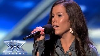 "Video Brandie Love Sings ""Up to the Mountain"" and Takes Simon to Church! - THE X FACTOR USA 2013 MP3, 3GP, MP4, WEBM, AVI, FLV Maret 2018"