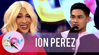 Ion Perez reveals that Vice Ganda is special to him | GGV