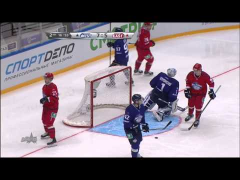 Матч Звезд КХЛ 2015 / KHL All Star Game 2015 Highlights (видео)