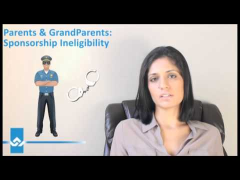 Parents and Grandparents Sponsorship Ineligibility Video