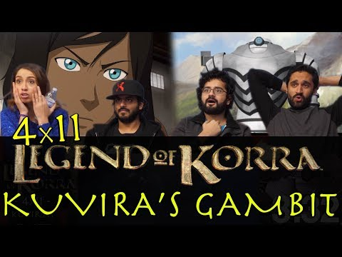 The Legend of Korra - 4x11 Kuvira's Gambit - Group Reaction