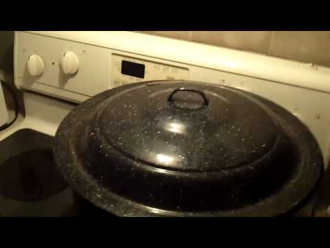 My thoughts... canning on a gas stove vs. electric