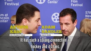 Adam Sandler joins NHL Celebrity Wrap to share his connection to hockey by NHL