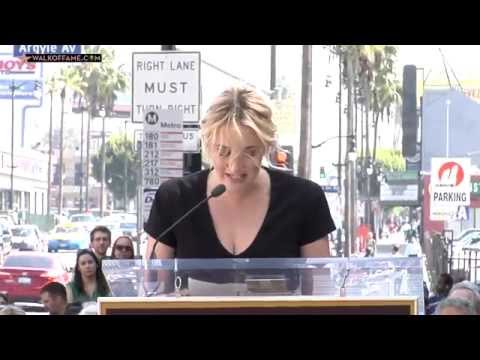 Kate Winslet Walk of Fame Ceremony