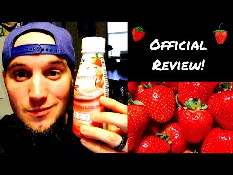 Equate Ultra Weight Loss Strawberries & Cream Meal Replacement Shake Review - Lose weight Fast!