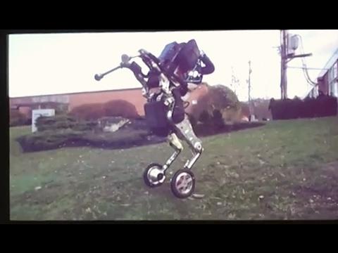 Новый робот Boston Dynamics