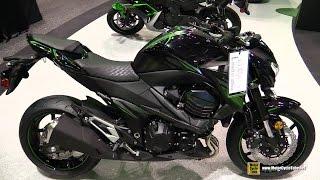 10. 2016 Kawasaki Z800 ABS - Walkaround - 2015 AIMExpo Orlando