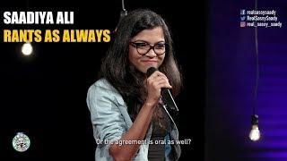 Rants as always | Standup comedy by Saadiya Ali