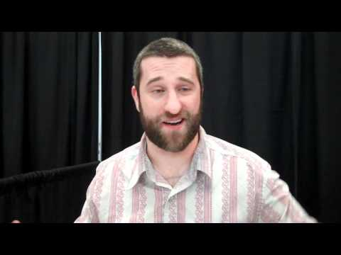 Dustin Diamond at Niagara Falls Comic Con