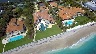 Palm Beach (FL) United States  city photo : Palm Beach, Florida from Above - UHD 4K
