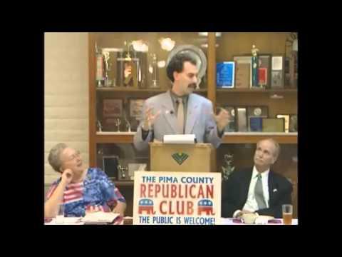 Da Ali G Show - Borat has Lunch with The Arizona Republican Comittee