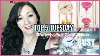 Top 5 Tuesday Video playlist - http://bit.ly/2t4NEhg Hi I'm Jess! I am a wife and mother working outside the home following the...
