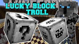 Video Minecraft: TROLL LUCKY BLOCK (ILLUMINATI, GIANT TROLL FACES, & INSANE WEAPONS!) Mod Showcase MP3, 3GP, MP4, WEBM, AVI, FLV Mei 2018