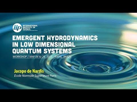 Diffusive and Super-diffusive transport in quantum integrable spin chain - Jacopo De Nardis