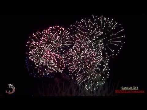 SUCCIVO (Caserta) - Ss. Salvatore 2014 - BRUSCELLA Fireworks