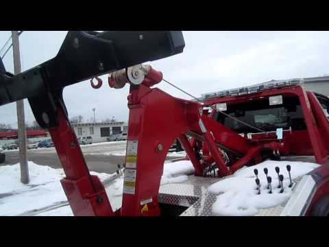 towtruck - I'm looking at new Ford F550 Wrecker tow truck at Marietta, OH.