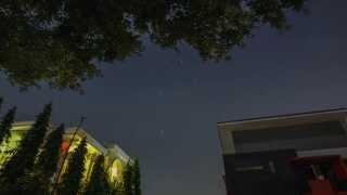 moon & falling star timelapse