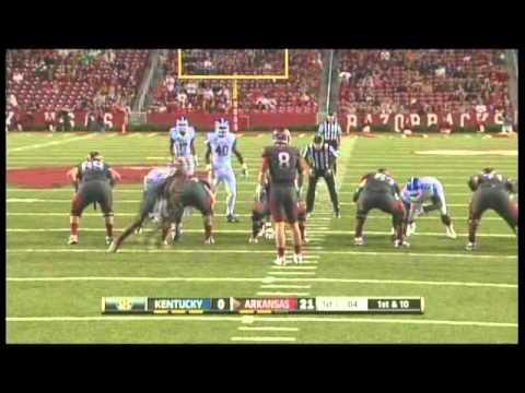 Arkansas vs. Kentucky 2012 video.