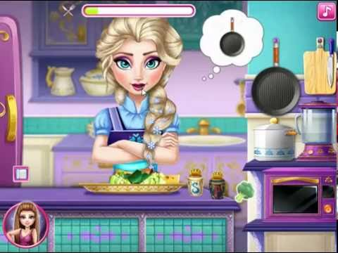 Frozen Elsa Princess Real Cooking Games | Elsa Cooking Fish Games | Real Cooking Games