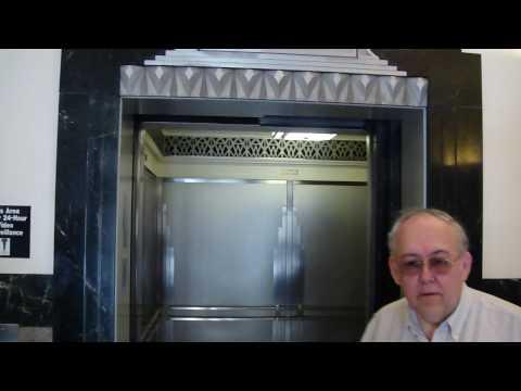 elevator trio: Dover traction @ Roanoke Higher education Building Roanoke VA