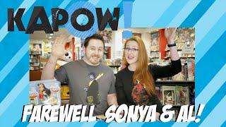 Kapow! Sonya & Al Farewell